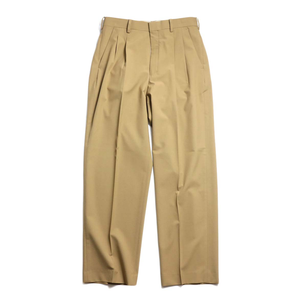 N.HOOLYWOOD / 191-PT08-055-pieces 2tuck Slacks (Beige)
