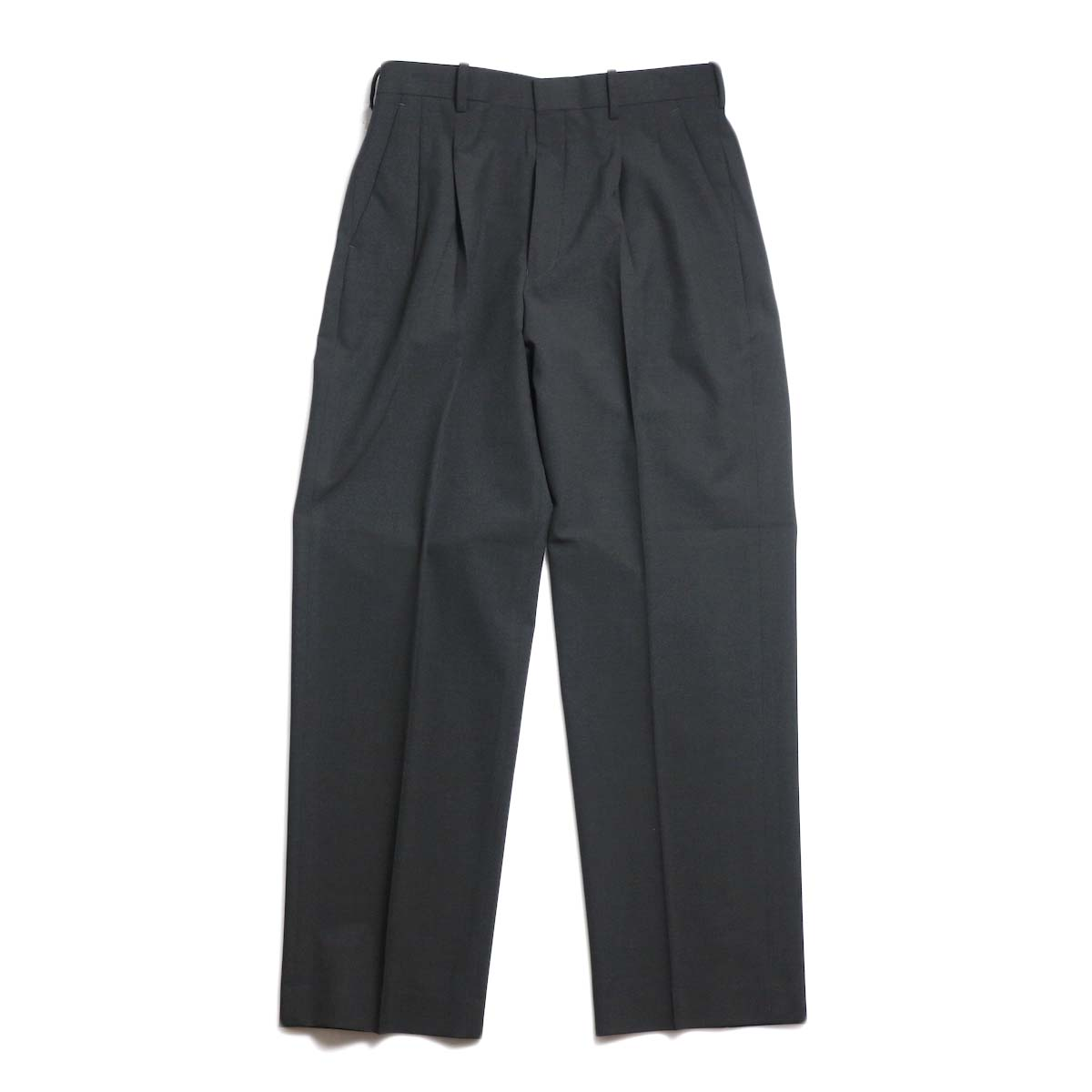 N.HOOLYWOOD / 191-PT08-055-pieces 2tuck Slacks (Charcoal)