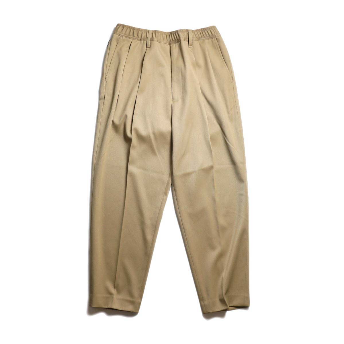 N.HOOLYWOOD / 191-PT09-056-pieces 2tuck Easy Slacks (Beige)