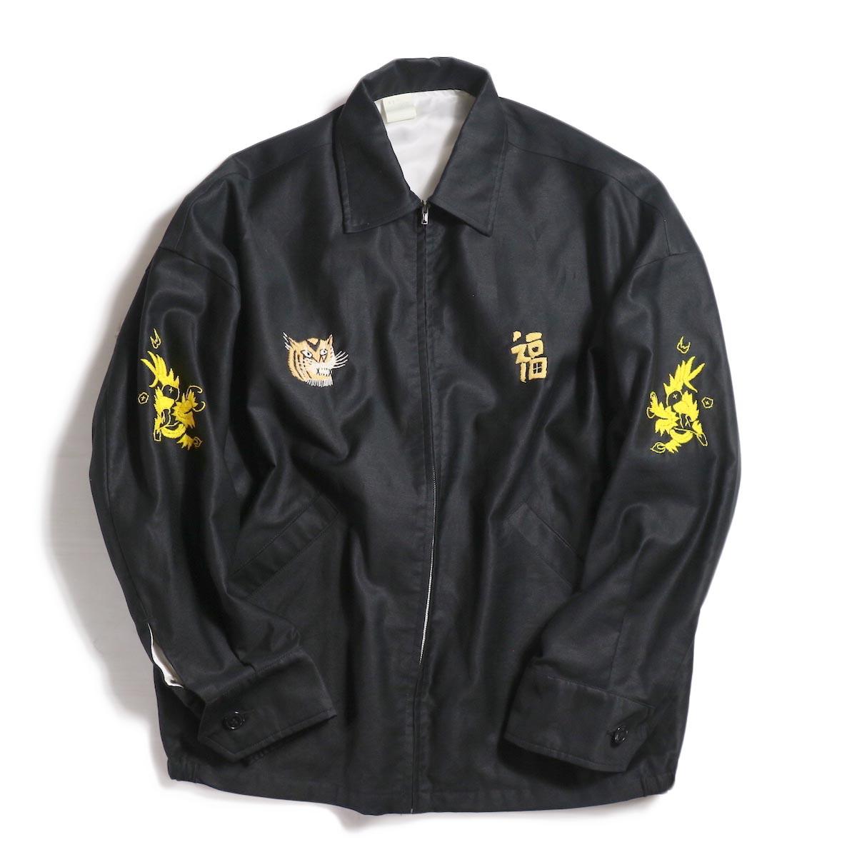 N.HOOLYWOOD / T.P.E.S 982-BL01 Souvenir jacket