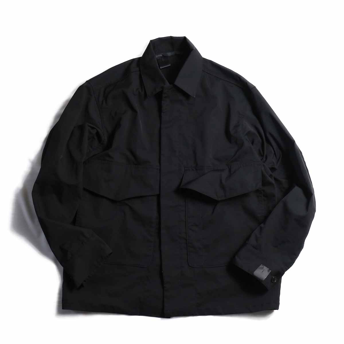 N.HOOLYWOOD / 282-BL03-016-peg LONG SLEEVE SHIRT JACKET -BLACK