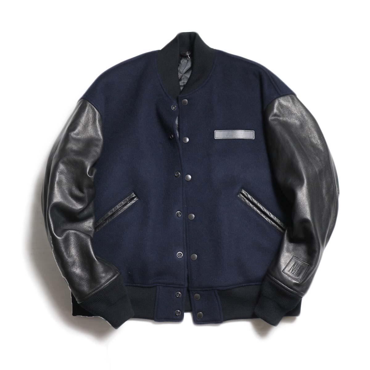N.HOOLYWOOD / 282-LT01-002 Leather Stadium Jacket