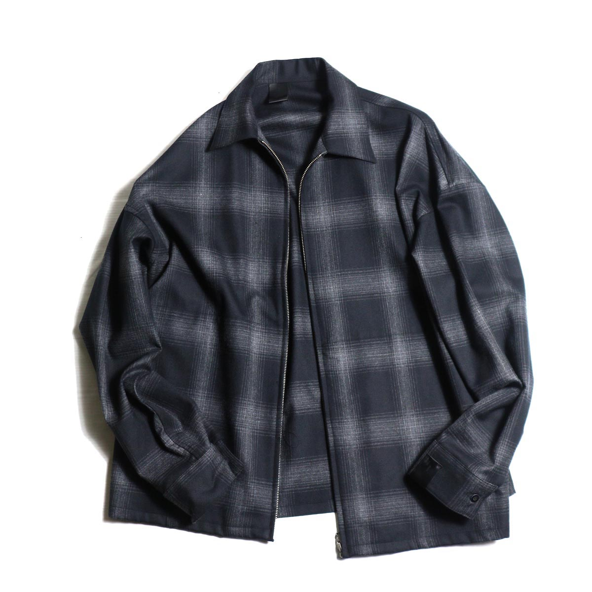 N.HOOLYWOOD /282-SH08-011 ZIP UP SHIRT