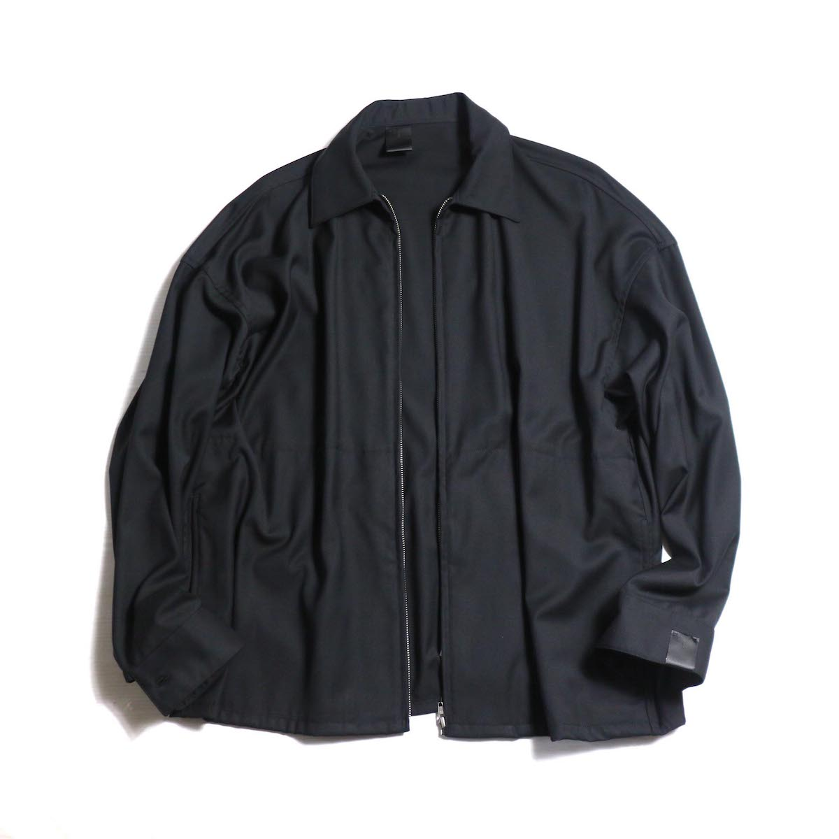N.HOOLYWOOD / 282-SH08-013-peg ZIP UP SHIT BLOUSON -BLACK