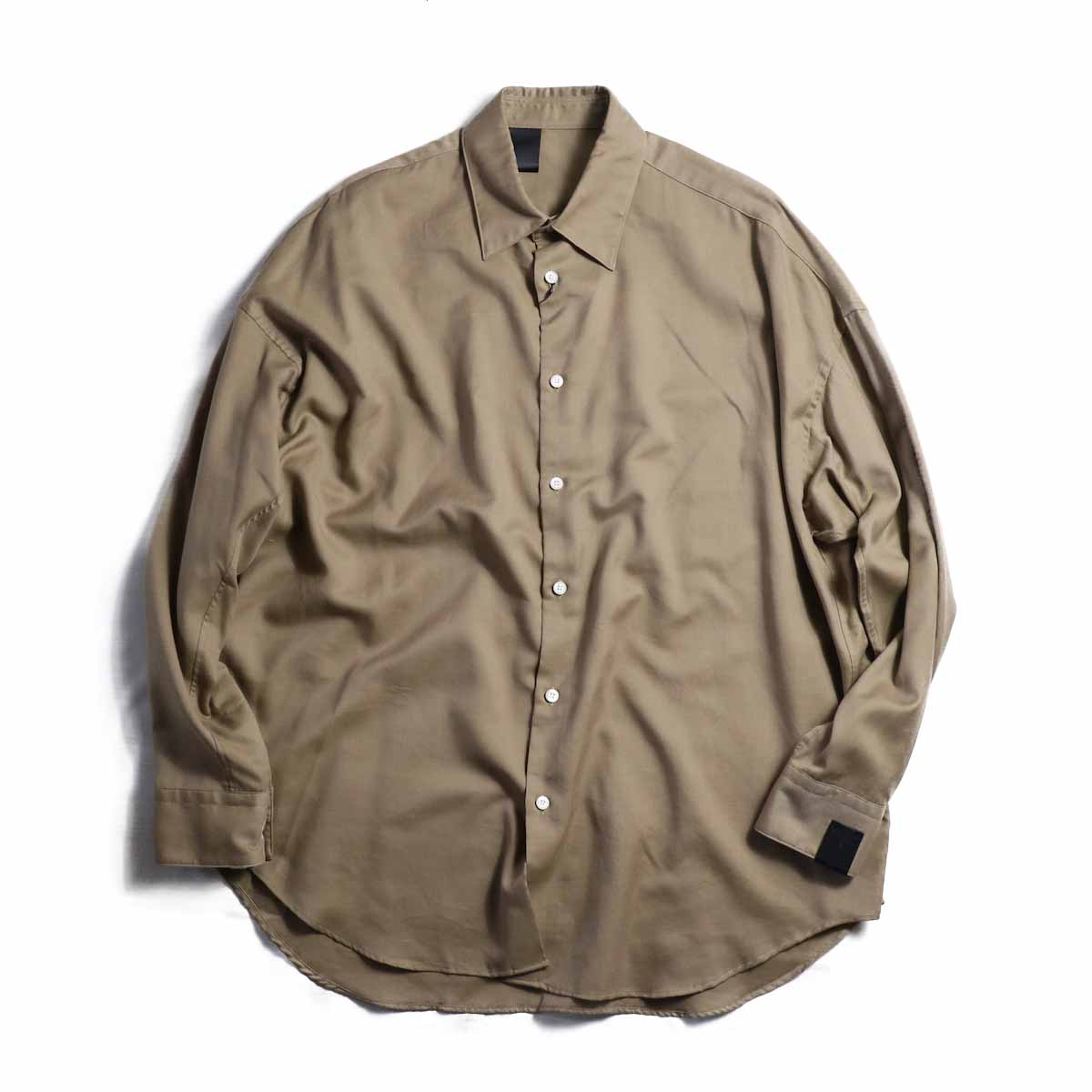 N.HOOLYWOOD / 282-SH09-012-peg LONG SLEEVE SHIRT -BEIGE