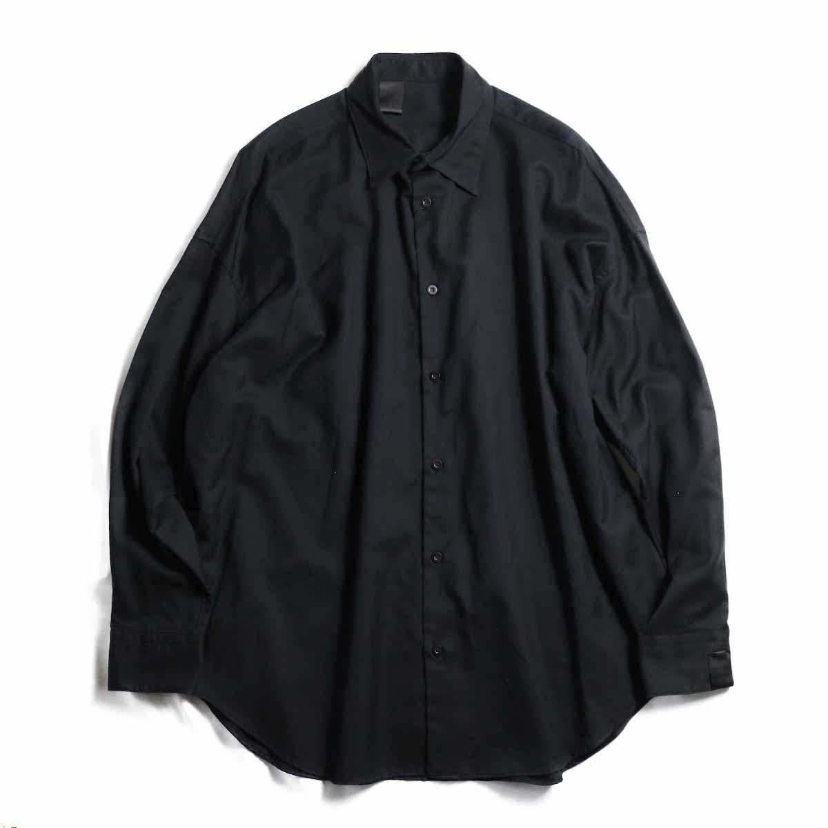 N.HOOLYWOOD / 282-SH09-012-peg LONG SLEEVE SHIRT -BLACK