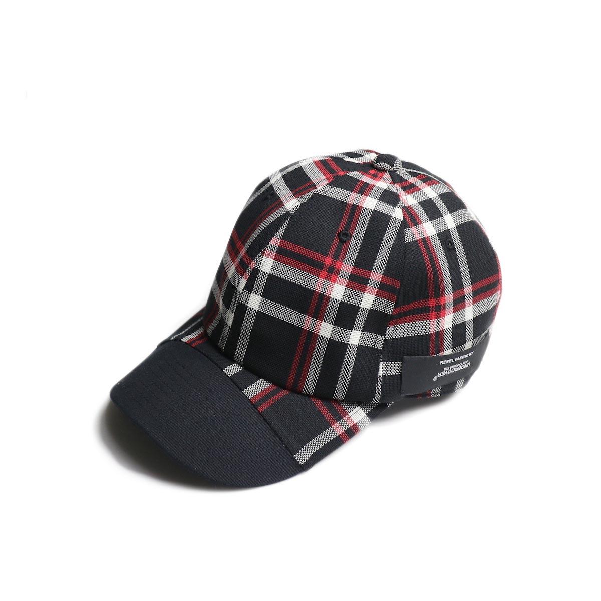 N.HOOLYWOOD / 1201-AC08 6P Check Cap  (Bk Check)