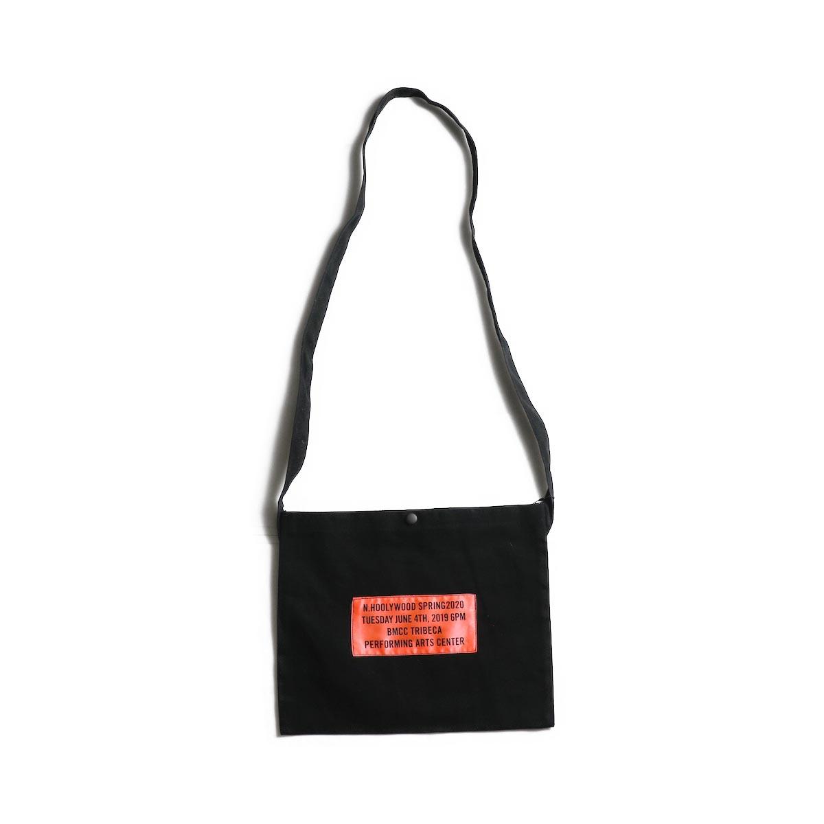 N.HOOLYWOOD / 1201-AC82 Shoulder Bag (Black)