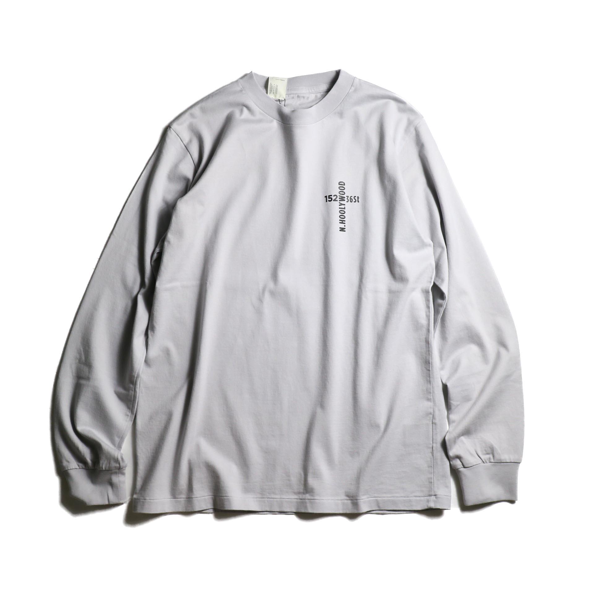 N.HOOLYWOOD / 1201-CS33-079 Long Sleeve Shirt (L.Gray)
