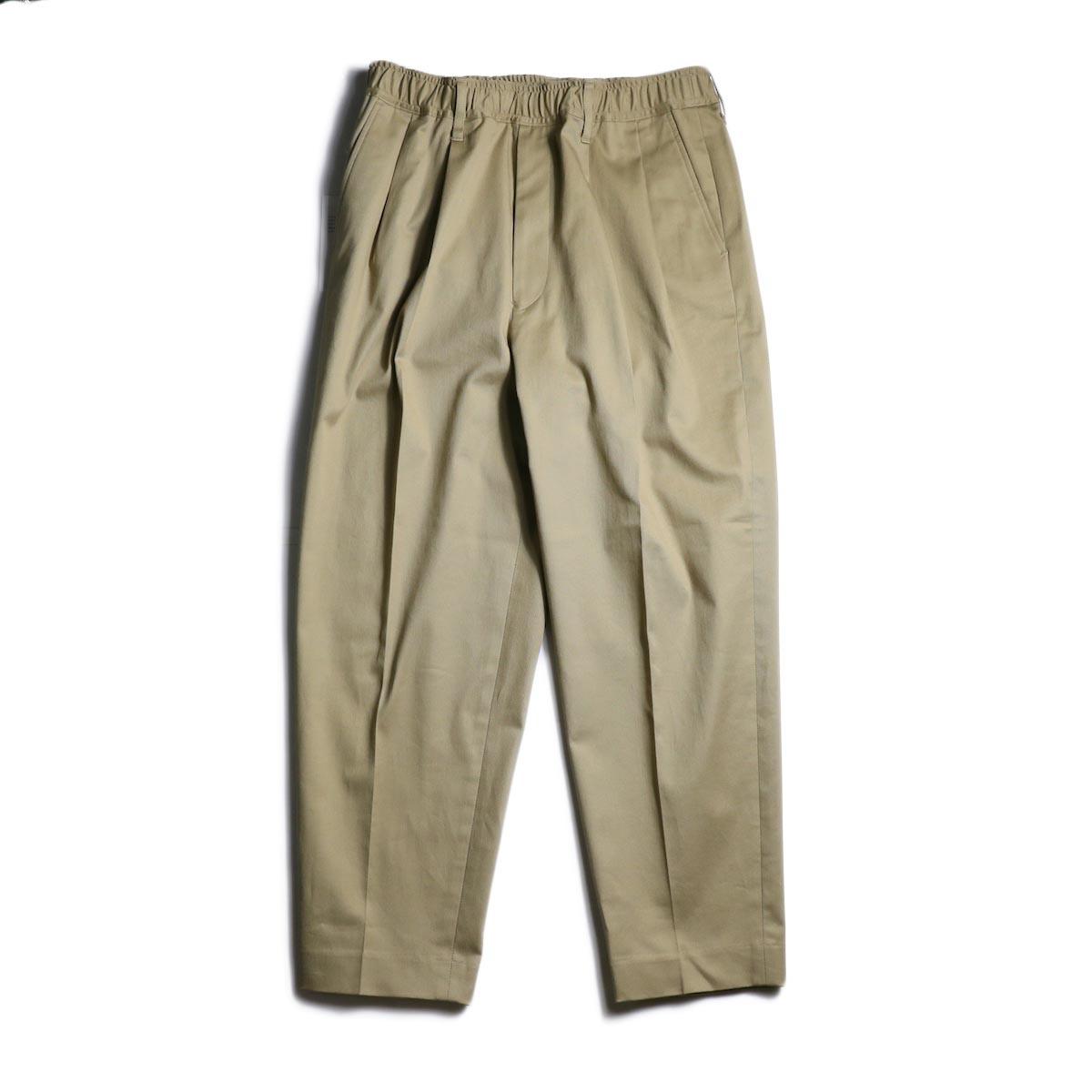 N.HOOLYWOOD / 1201-PT12-058 Taperede Easy Pants (Beige)