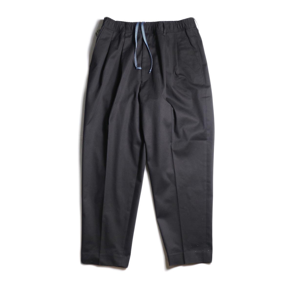 N.HOOLYWOOD / 1201-PT12-058 Taperede Easy Pants (Black)