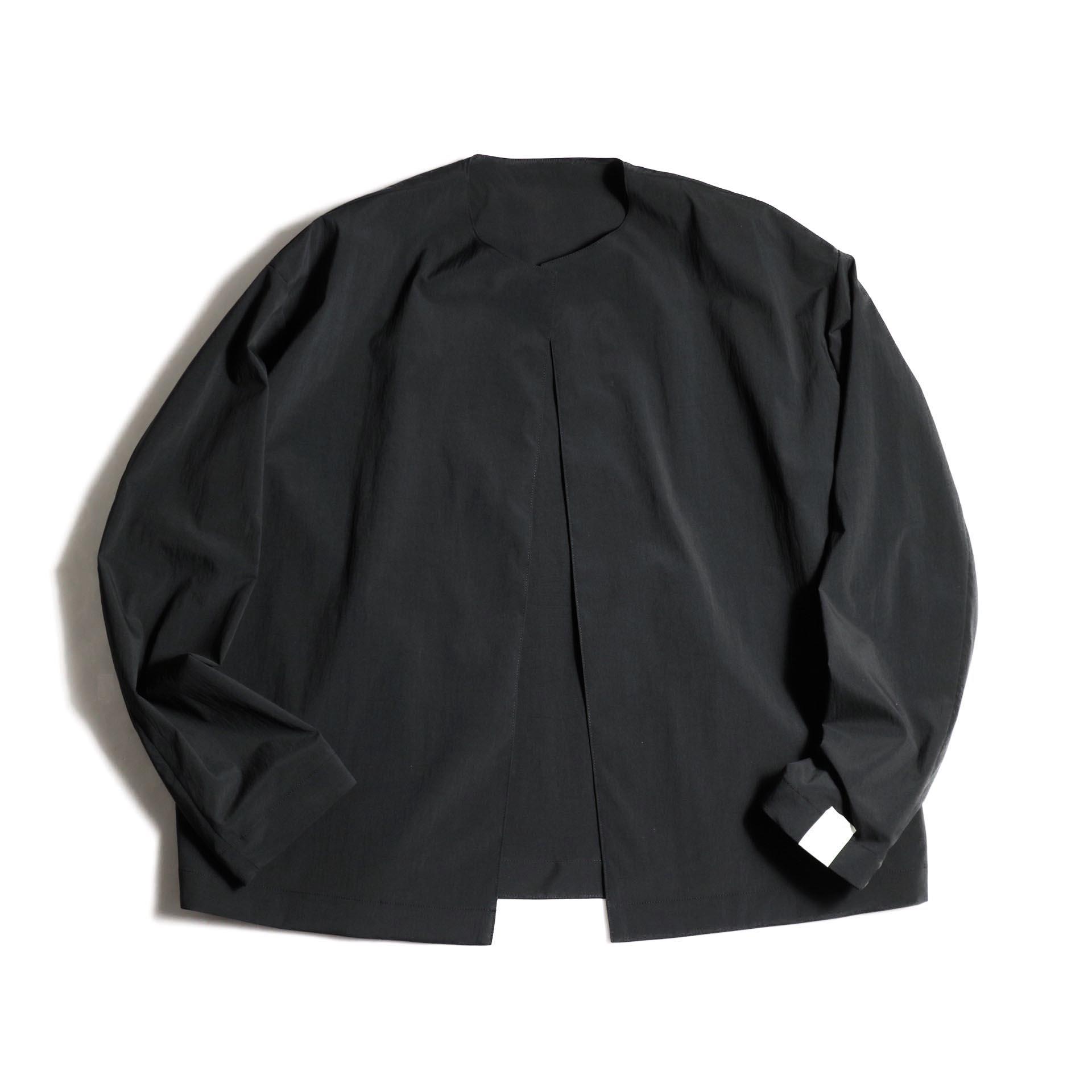 N.HOOLYWOOD / 1202-BL03-007 Collarless Jacket (Black)