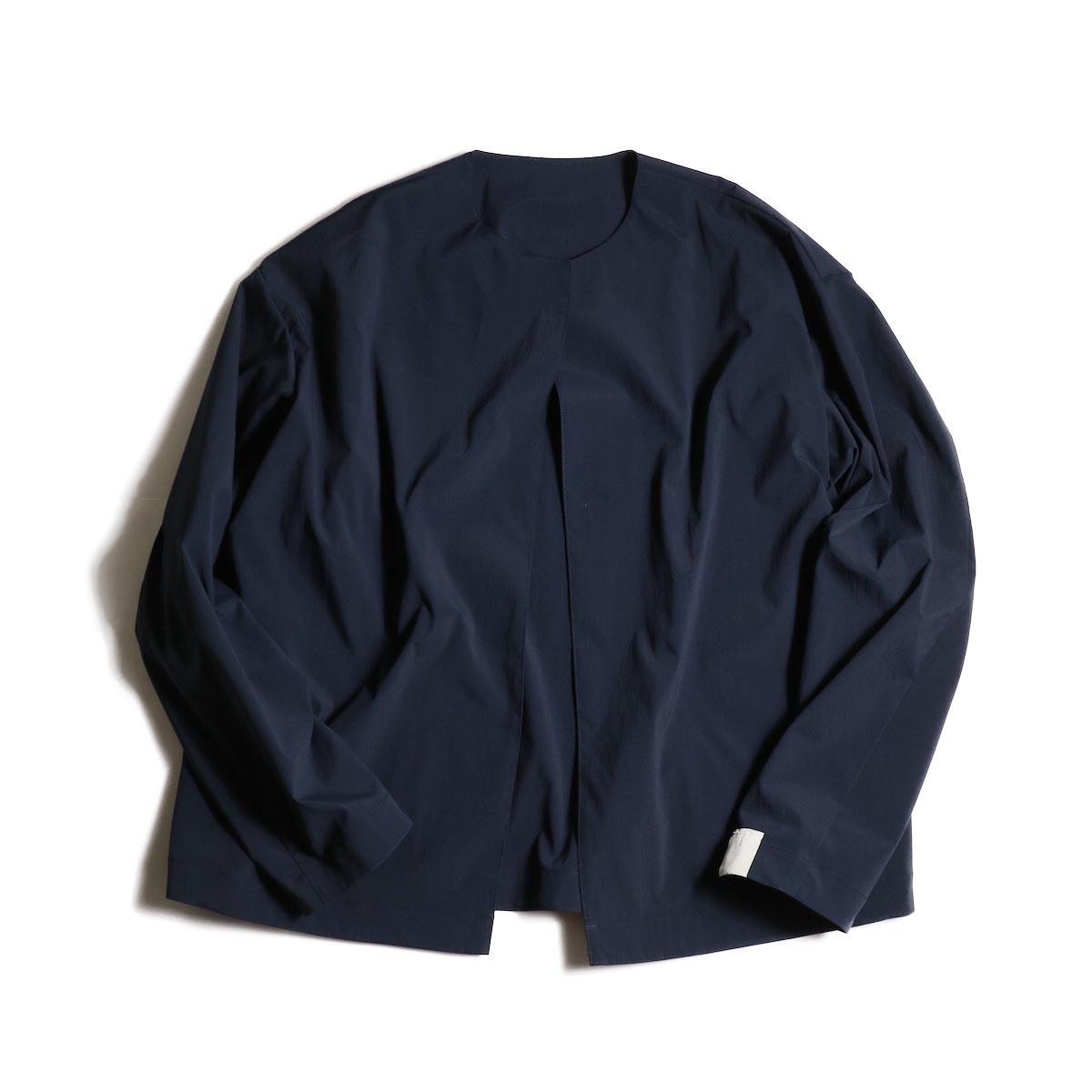N.HOOLYWOOD / 1202-BL03-007 Collarless Jacket (Navy)