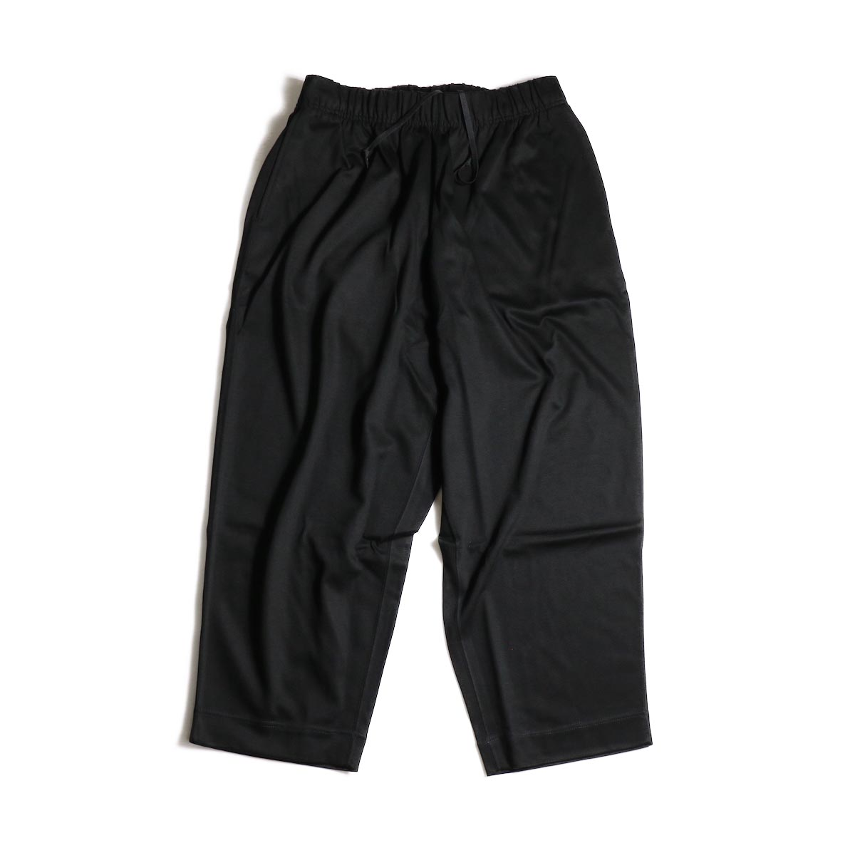 N.HOOLYWOOD / 1202-CP05-034  Wide Easy Pants (Black)