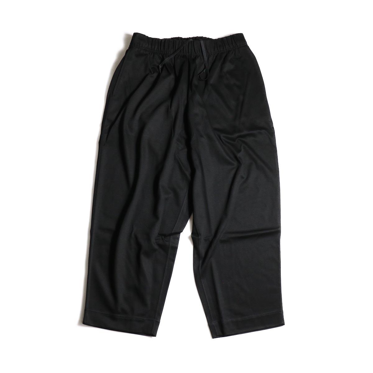 N.HOOLYWOOD / 1202-CP05-034  Wide Easy Pants (Black)正面