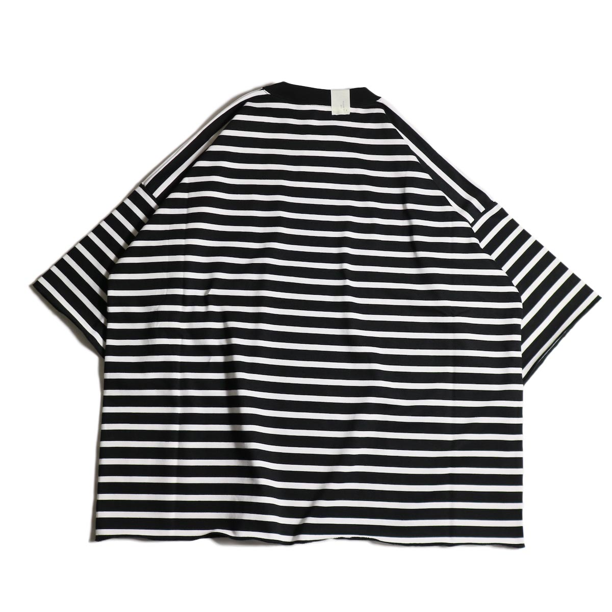 N.HOOLYWOOD / 1202-CS13-033 Big Tee (Black Border)背面