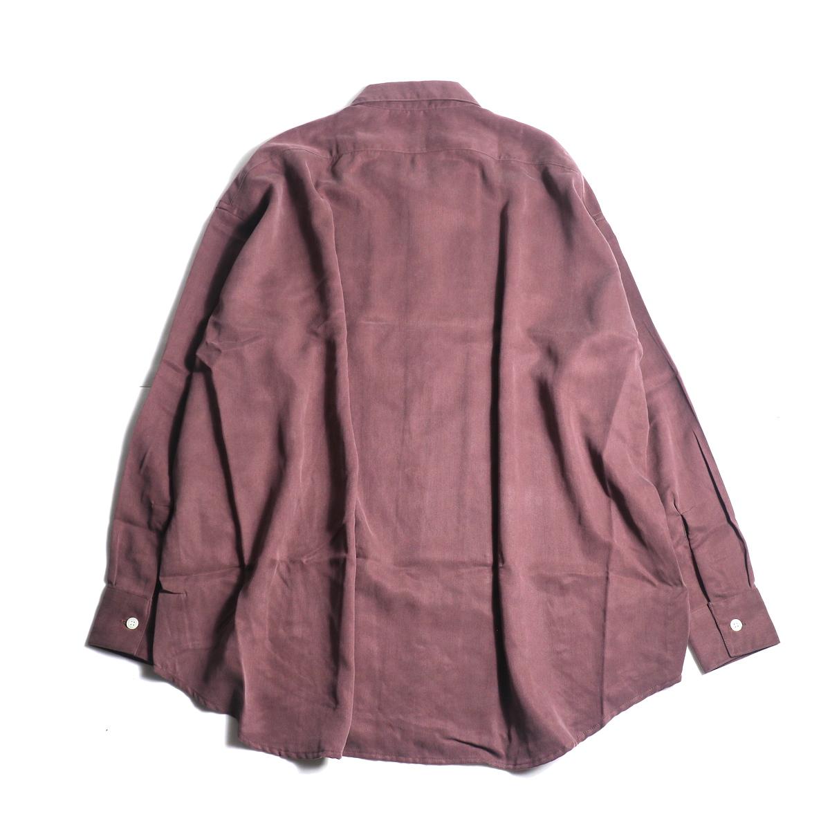 N.HOOLYWOOD / 1202-SH07-037 Loose Shirt (Burgundy背面