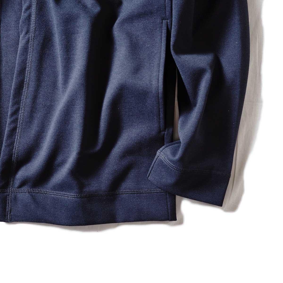 N.HOOLYWOOD / 18RCH-090 SHORT CARDIGAN (Chacoal)袖、裾