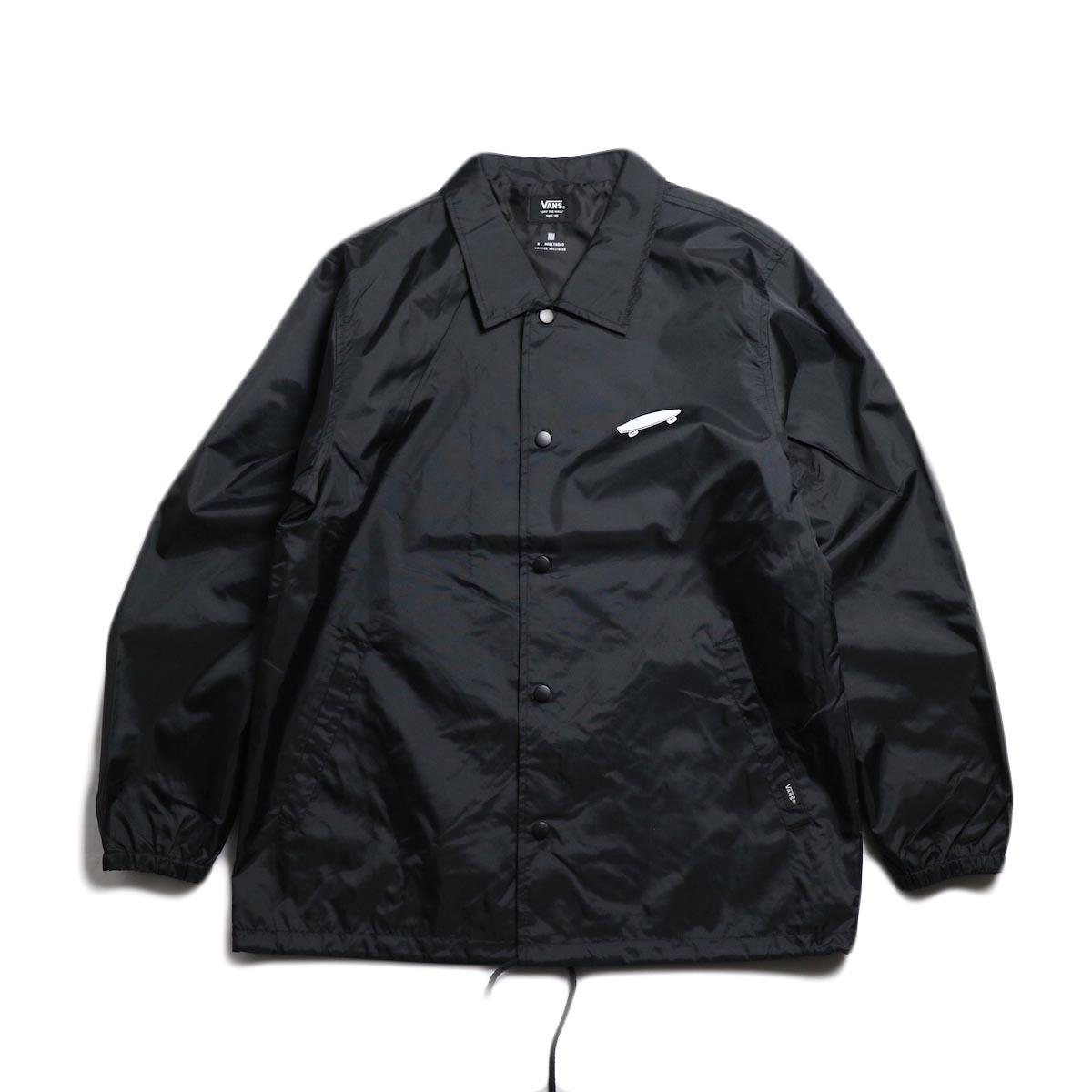N.HOOLYWOOD × VANS / 191-BL12-076 Coach Jacket -Black