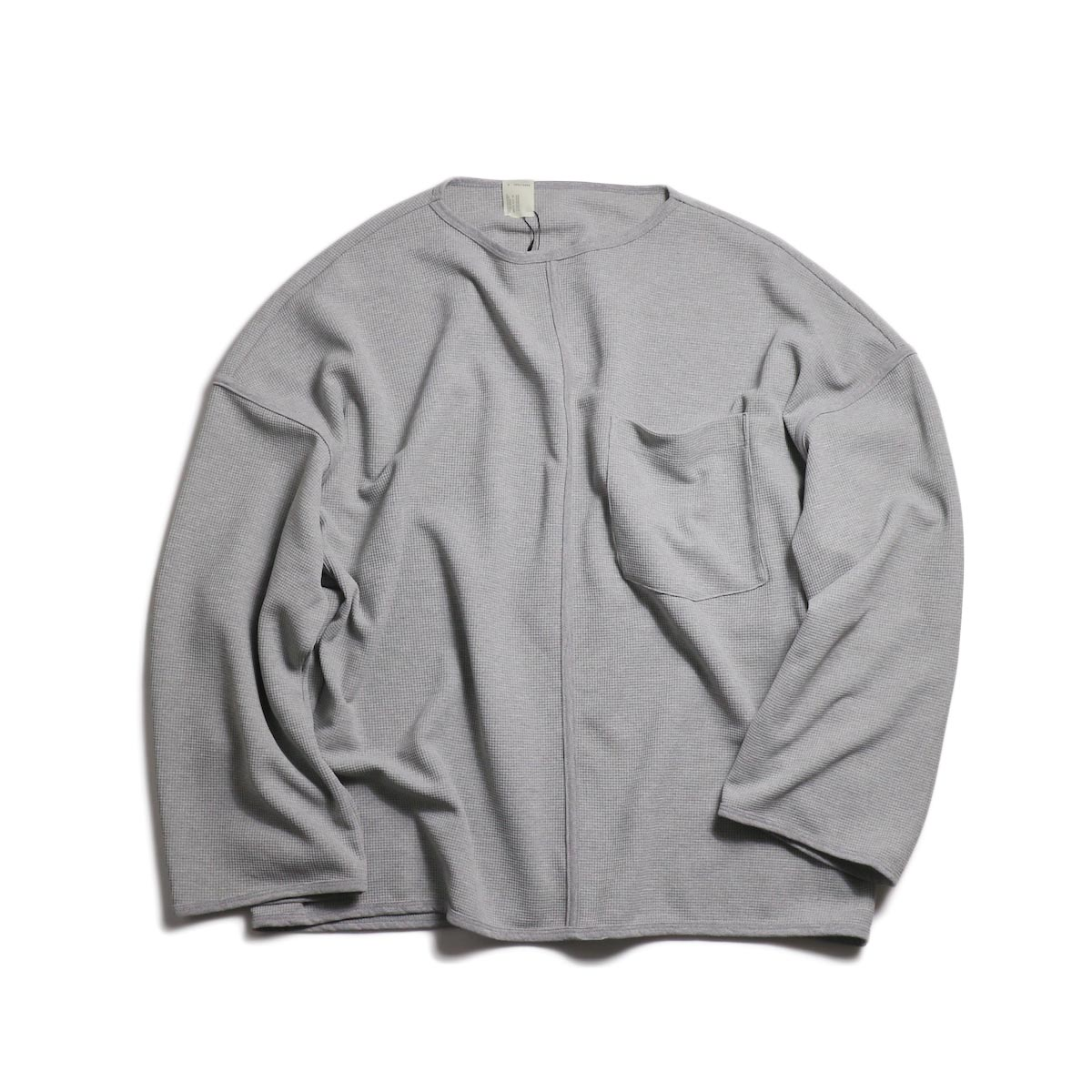 N.HOOLYWOOD / 191-CS13-015-pieces Center Seam LS Tee (Gray)