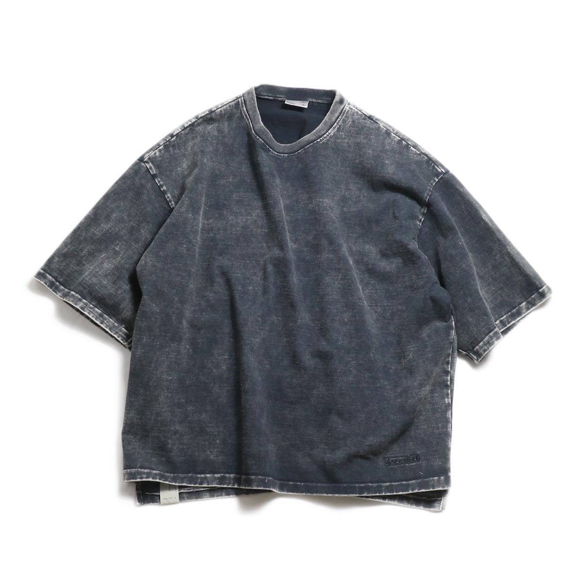 N.HOOLYWOOD × Gramicci  / 191-CS27-024 Short Sleeve Tee -Black 正面