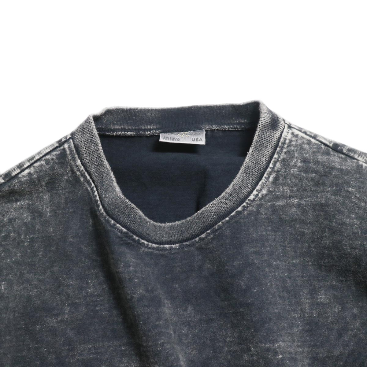 N.HOOLYWOOD × Gramicci  / 191-CS27-024 Short Sleeve Tee -Black 襟