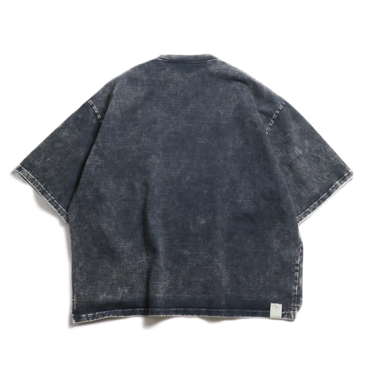 N.HOOLYWOOD × Gramicci  / 191-CS27-024 Short Sleeve Tee -Black 背面