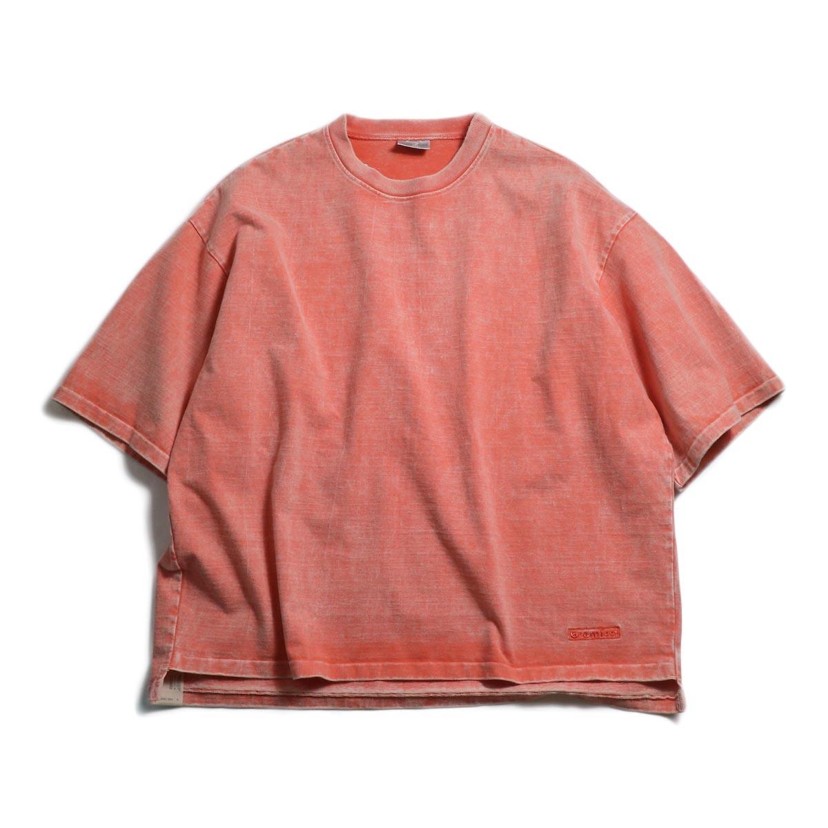 N.HOOLYWOOD × Gramicci  / 191-CS27-024 Short Sleeve Tee -Pink 正面