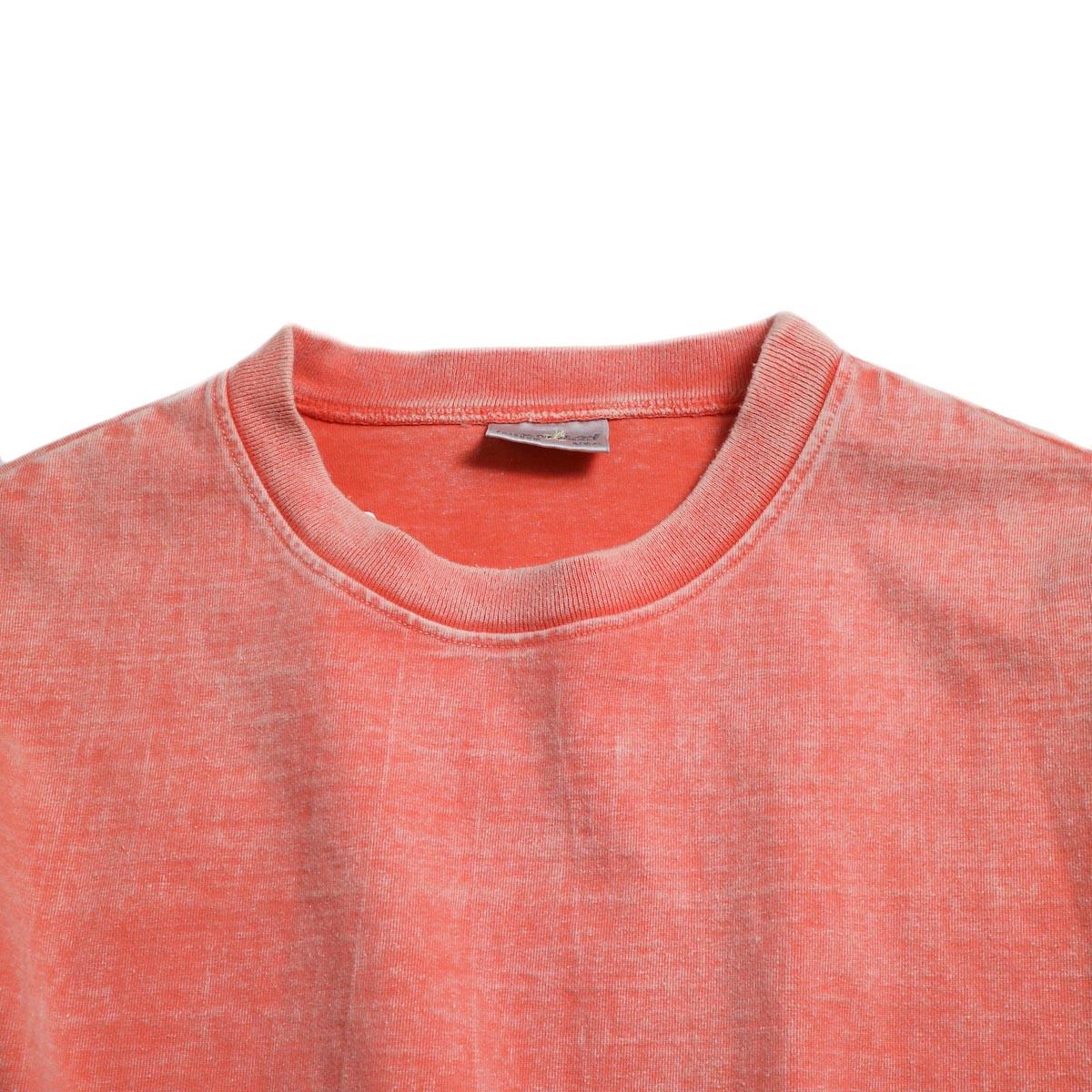 N.HOOLYWOOD × Gramicci  / 191-CS27-024 Short Sleeve Tee -Pink 襟
