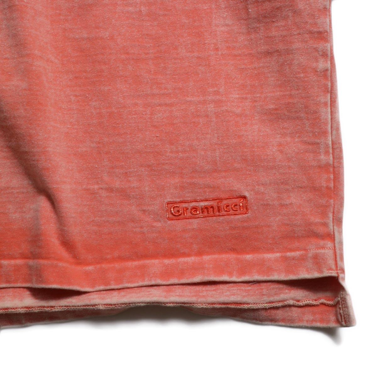 N.HOOLYWOOD × Gramicci  / 191-CS27-024 Short Sleeve Tee -Pink 裾