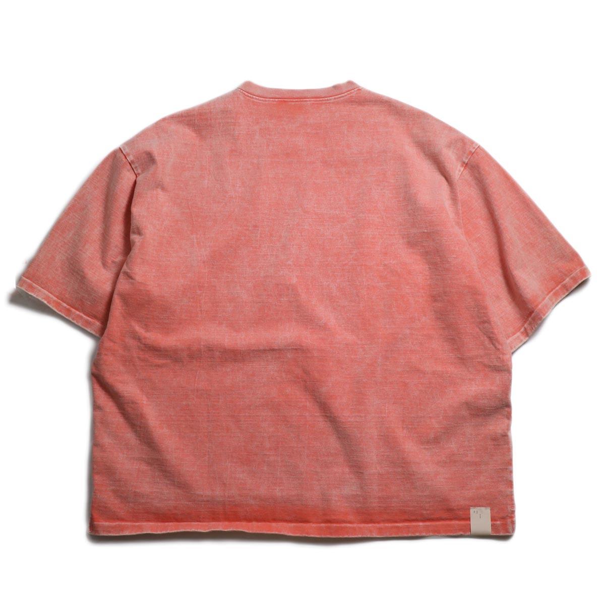 N.HOOLYWOOD × Gramicci  / 191-CS27-024 Short Sleeve Tee -Pink 背面