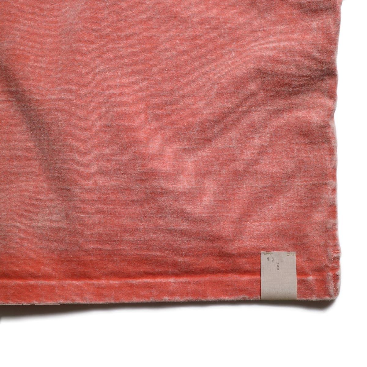 N.HOOLYWOOD × Gramicci  / 191-CS27-024 Short Sleeve Tee -Pink タグ