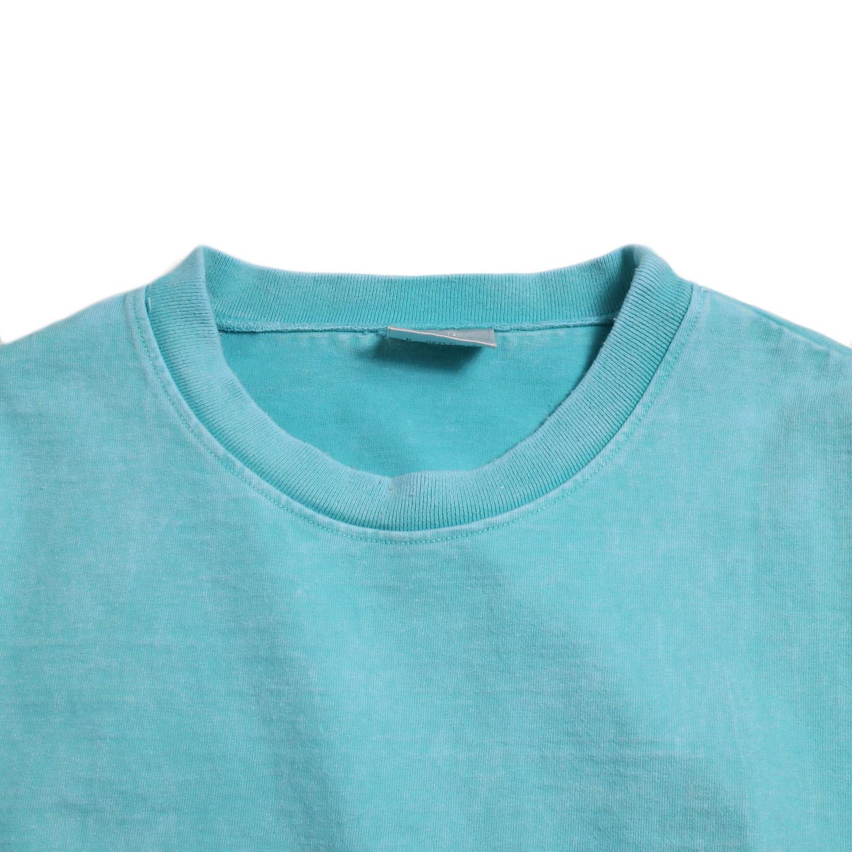 N.HOOLYWOOD × Gramicci  / 191-CS27-024 Short Sleeve Tee -Turquoise 襟
