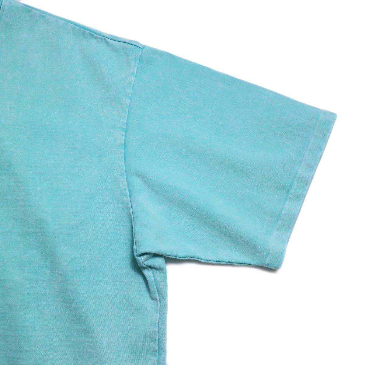 N.HOOLYWOOD × Gramicci  / 191-CS27-024 Short Sleeve Tee -Turquoise 袖