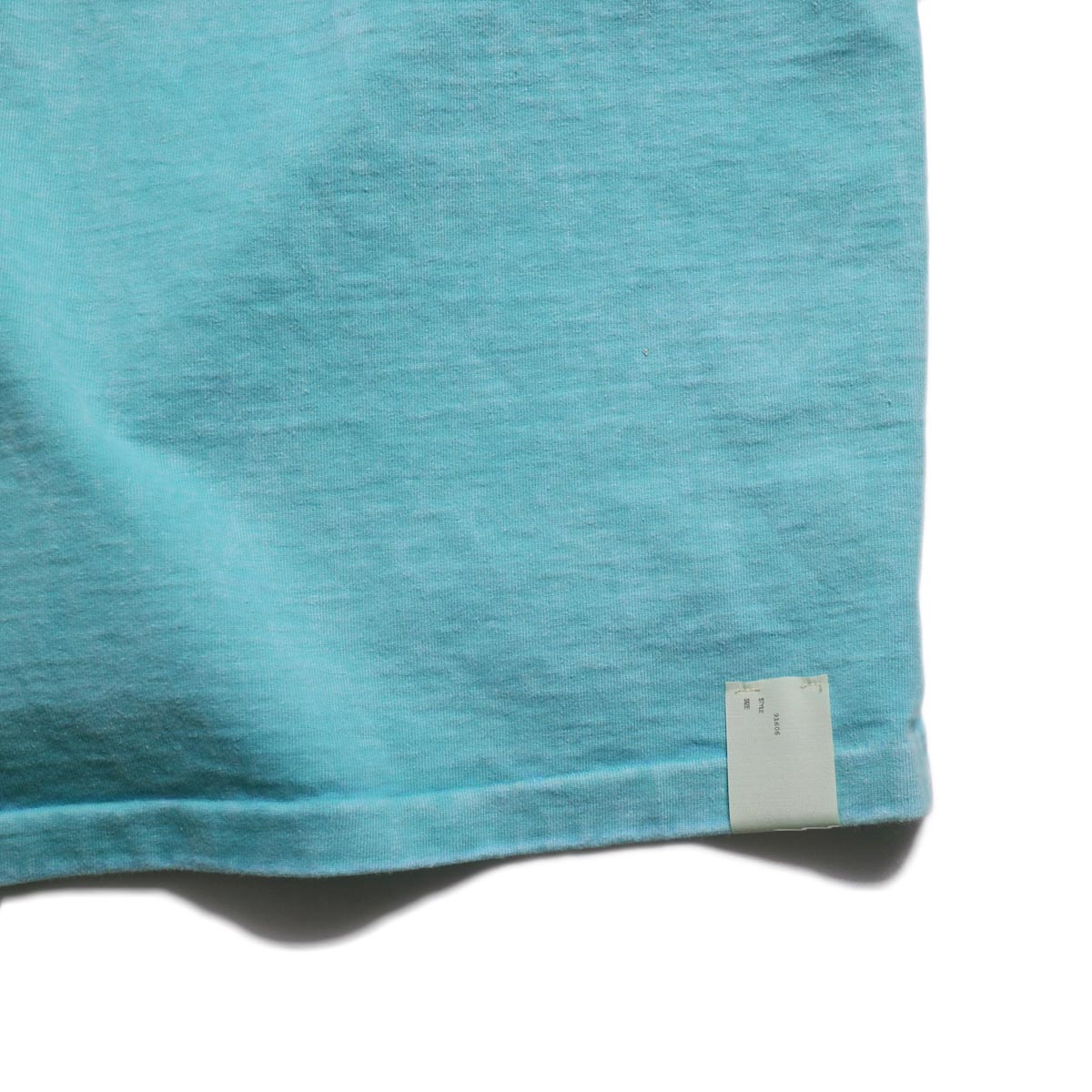 N.HOOLYWOOD × Gramicci  / 191-CS27-024 Short Sleeve Tee -Turquoise 裾