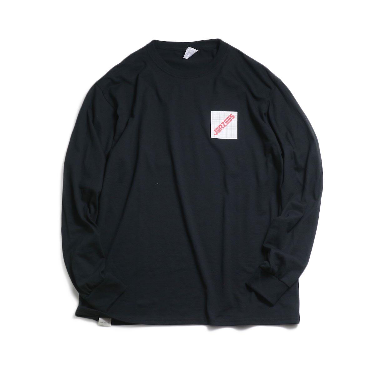 N.HOOLYWOOD × JERZEES  / 191-CS43-070 Long Sleeve Tee -Black 正面