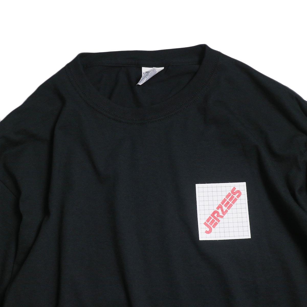 N.HOOLYWOOD × JERZEES  / 191-CS43-070 Long Sleeve Tee -Black 襟
