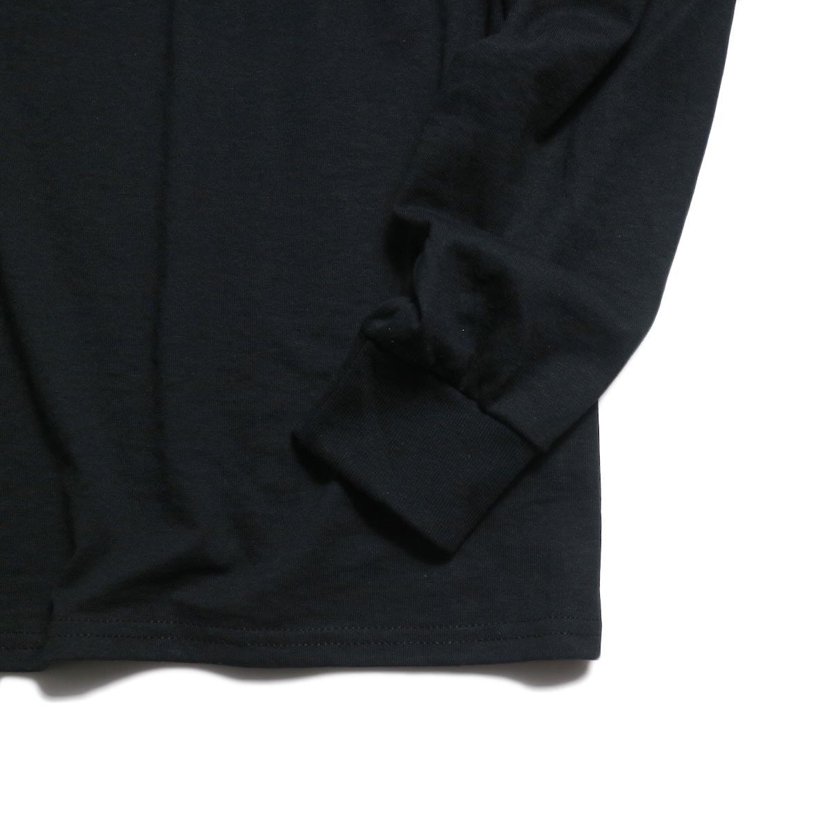 N.HOOLYWOOD × JERZEES  / 191-CS43-070 Long Sleeve Tee -Black 袖、裾