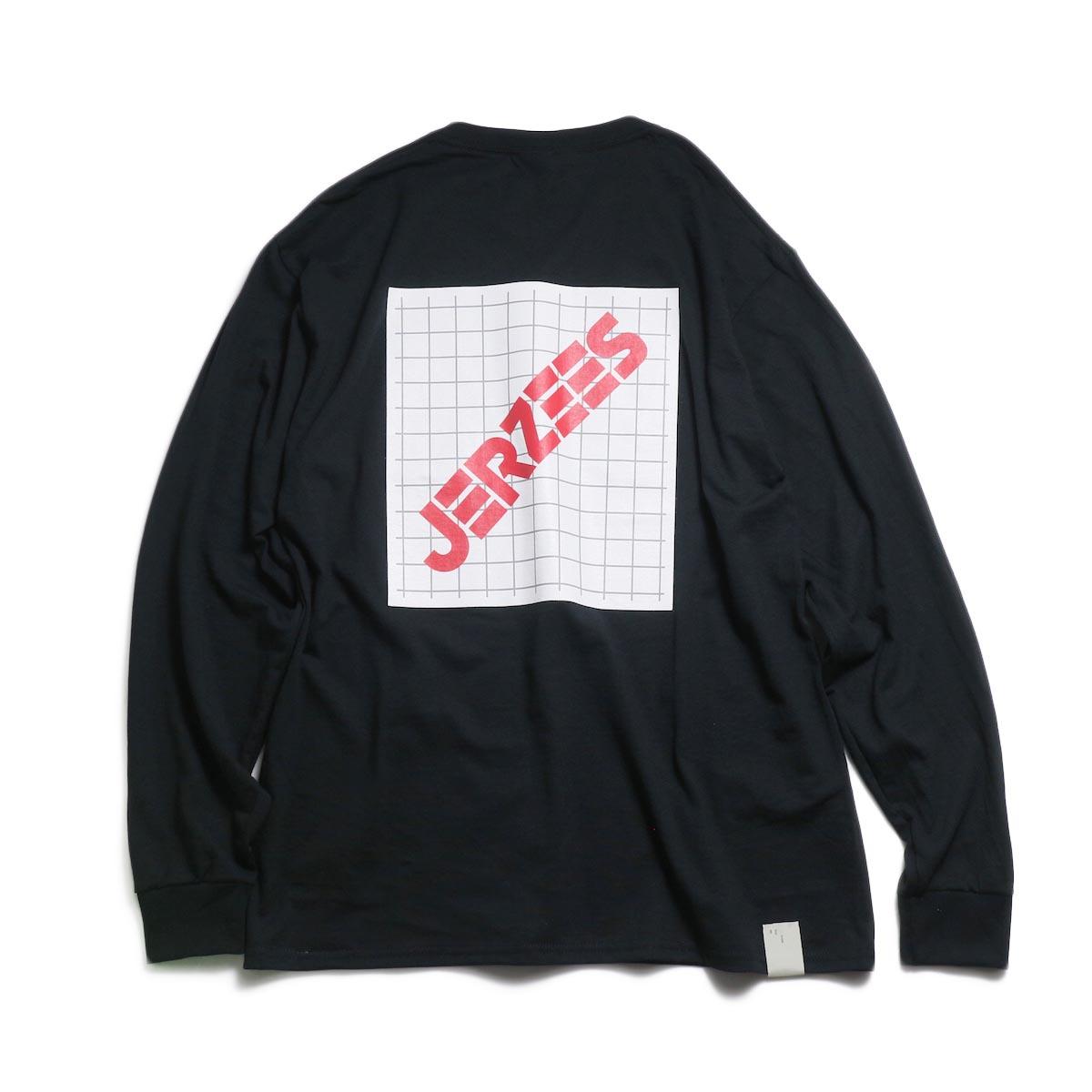 N.HOOLYWOOD × JERZEES  / 191-CS43-070 Long Sleeve Tee -Black 背面