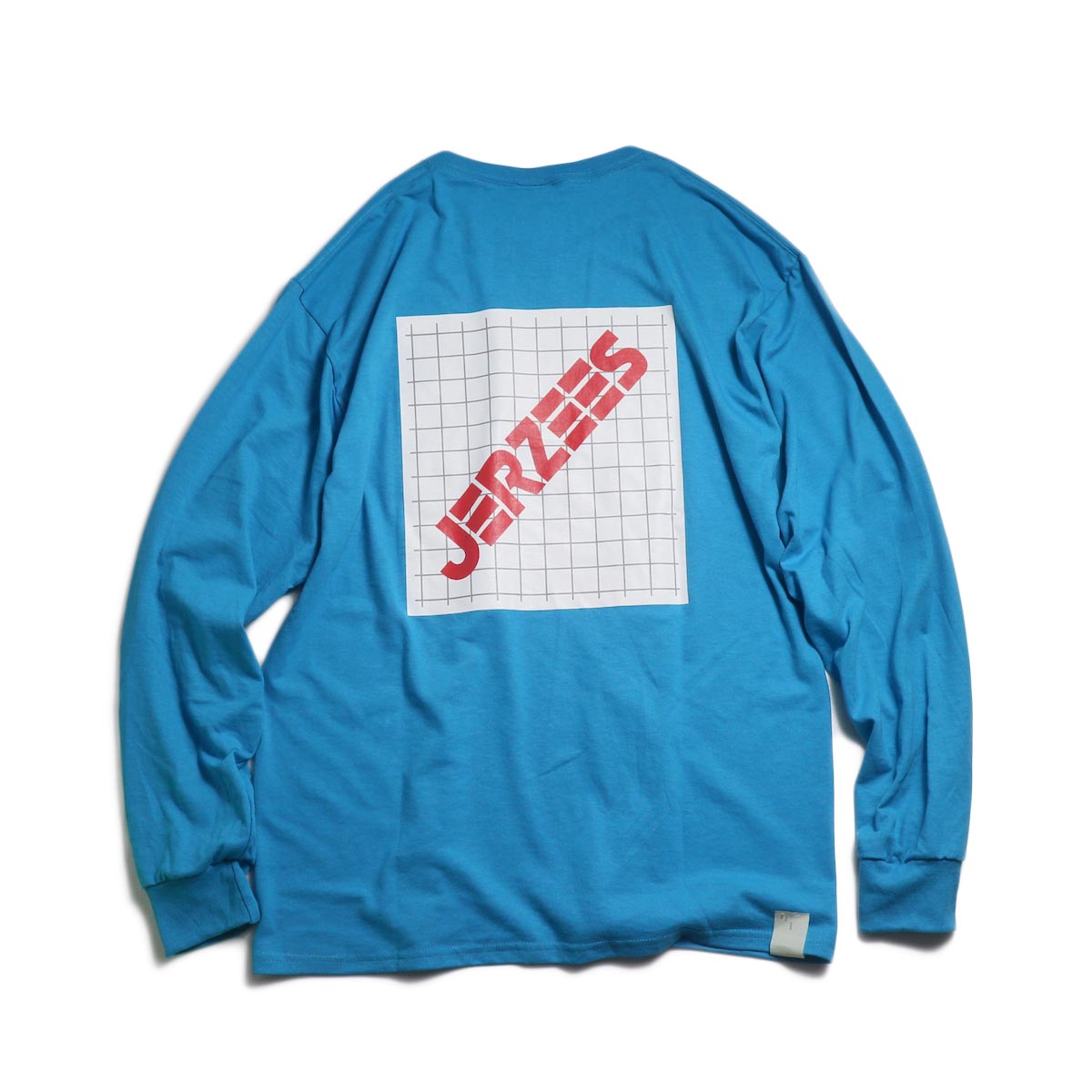 N.HOOLYWOOD × JERZEES  / 191-CS43-070 Long Sleeve Tee -Blue