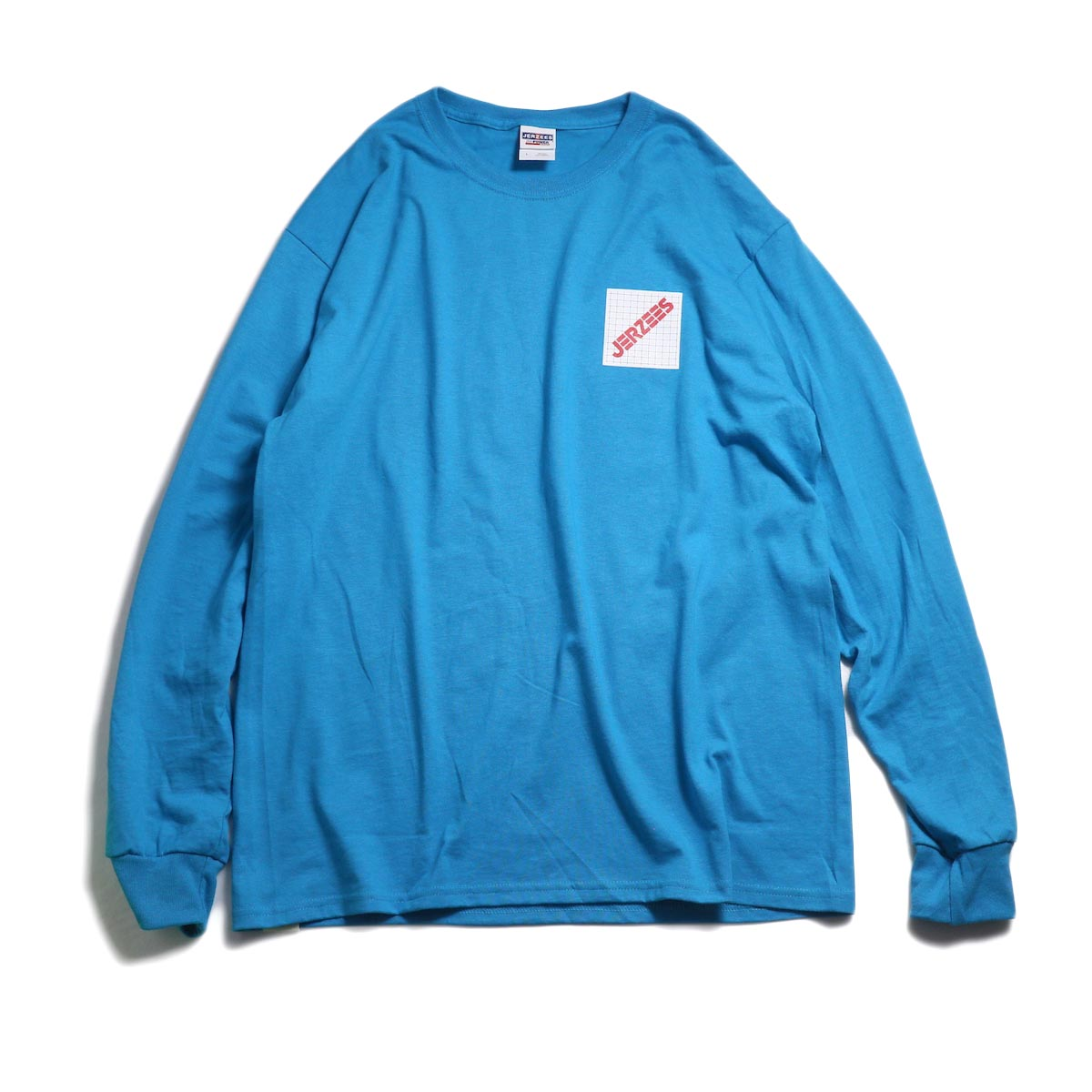 N.HOOLYWOOD × JERZEES  / 191-CS43-070 Long Sleeve Tee -Blue 正面