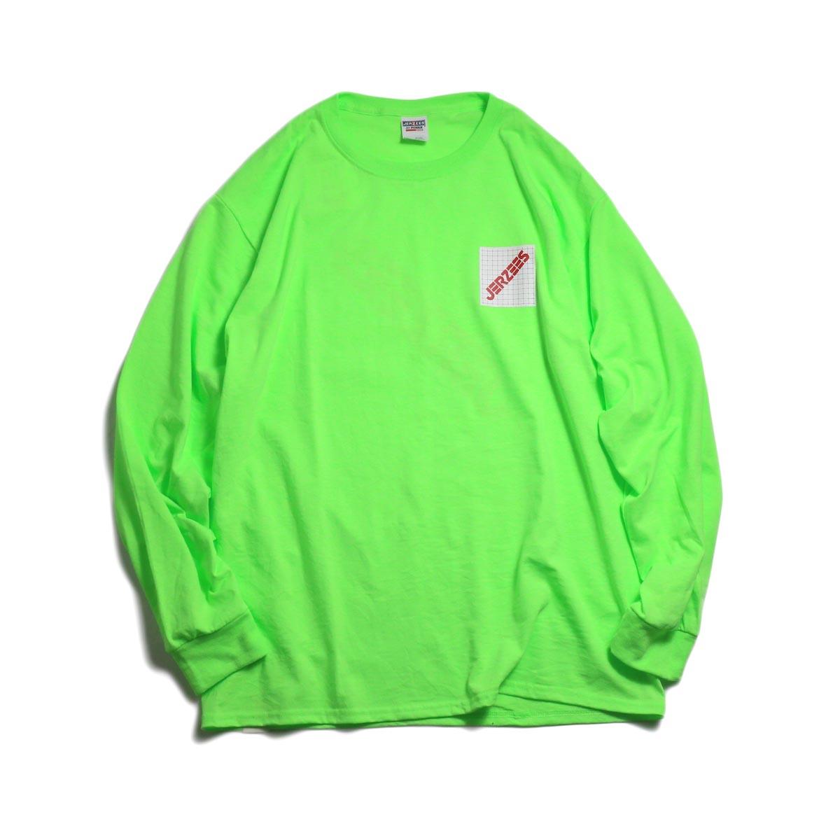 N.HOOLYWOOD × JERZEES  / 191-CS43-070 Long Sleeve Tee -Green