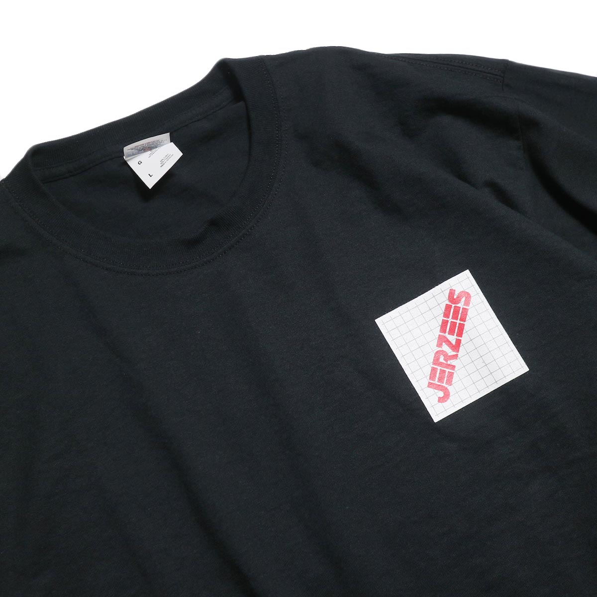 N.HOOLYWOOD × JERZEES  / 191-CS44-070 Short Sleeve Tee -Black 襟