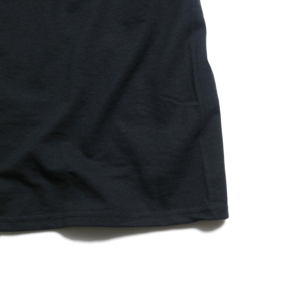 N.HOOLYWOOD × JERZEES  / 191-CS44-070 Short Sleeve Tee -Black 裾
