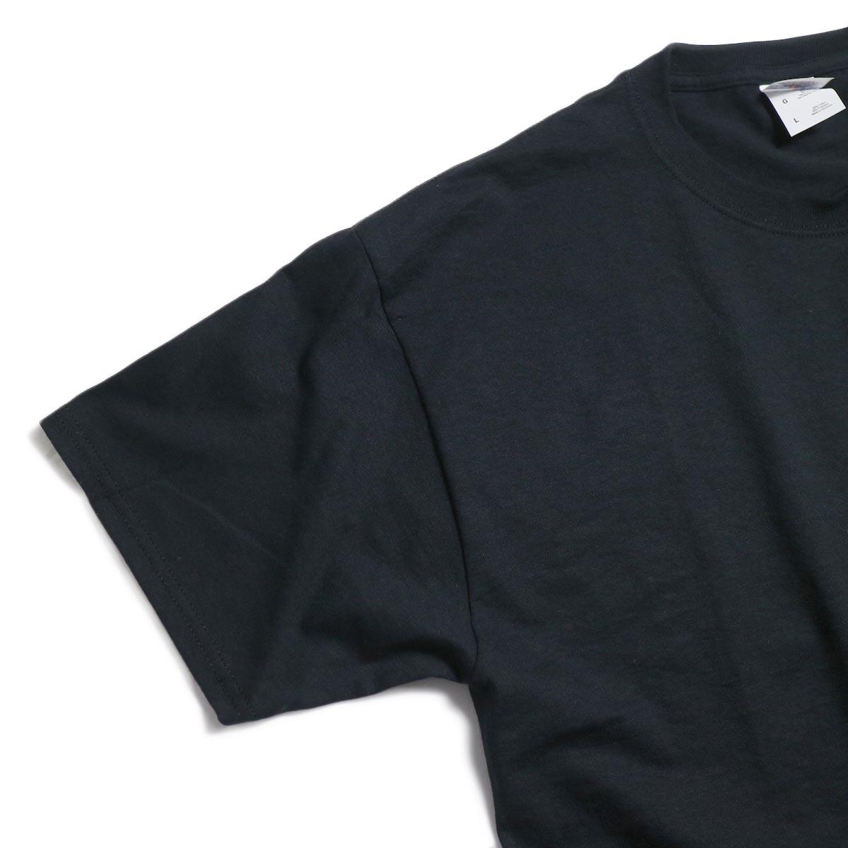 N.HOOLYWOOD × JERZEES  / 191-CS44-070 Short Sleeve Tee -Black 袖