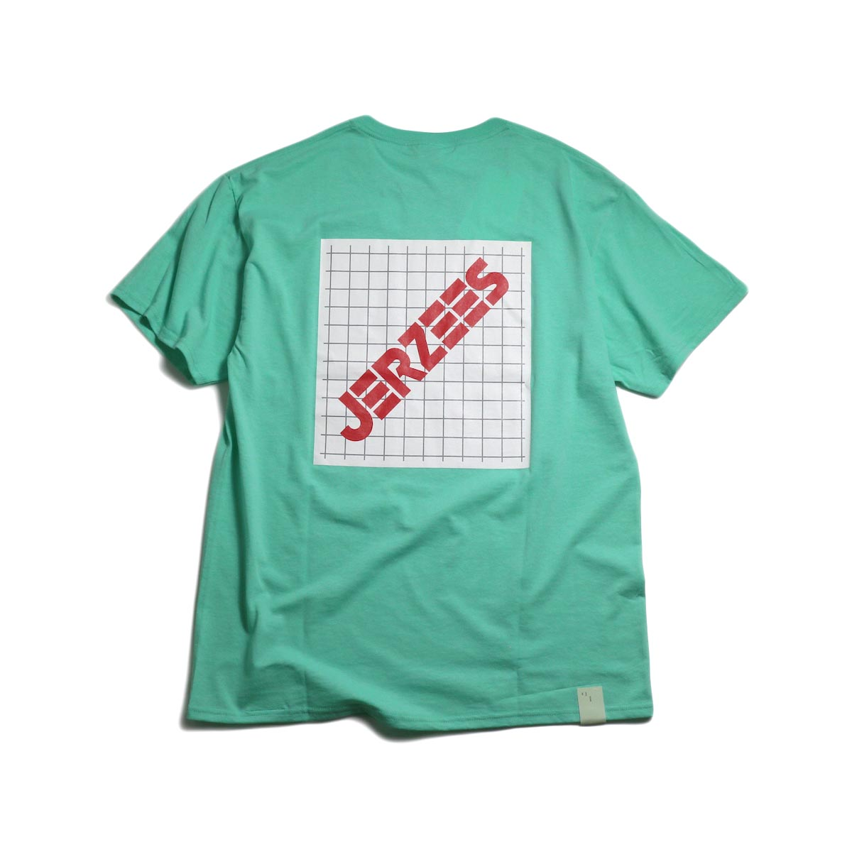 N.HOOLYWOOD × JERZEES  / 191-CS44-070 Short Sleeve Tee -Mint 背面