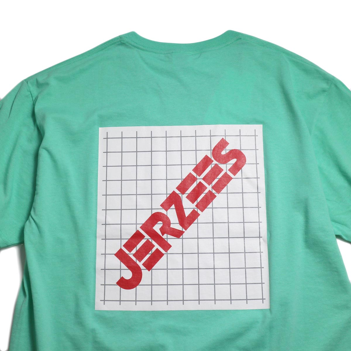 N.HOOLYWOOD × JERZEES  / 191-CS44-070 Short Sleeve Tee -Mint バックプリント