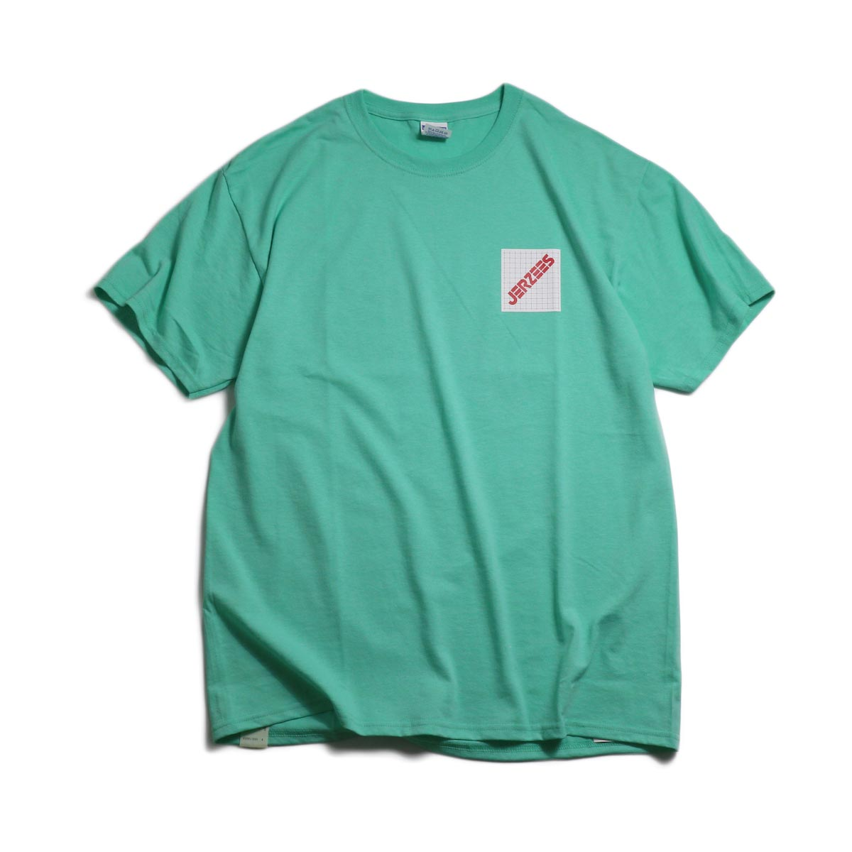 N.HOOLYWOOD × JERZEES  / 191-CS44-070 Short Sleeve Tee -Mint 正面