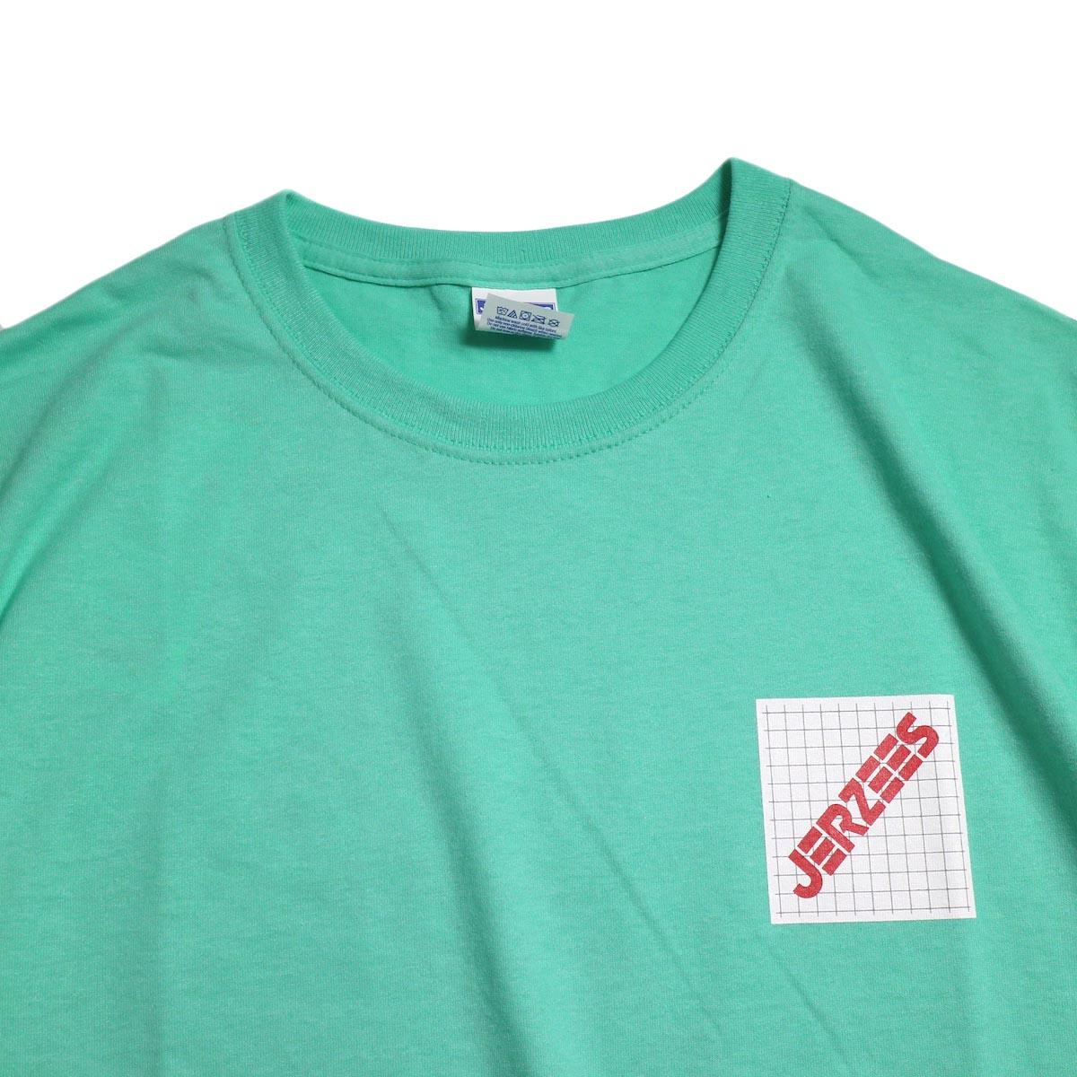 N.HOOLYWOOD × JERZEES  / 191-CS44-070 Short Sleeve Tee -Mint 襟