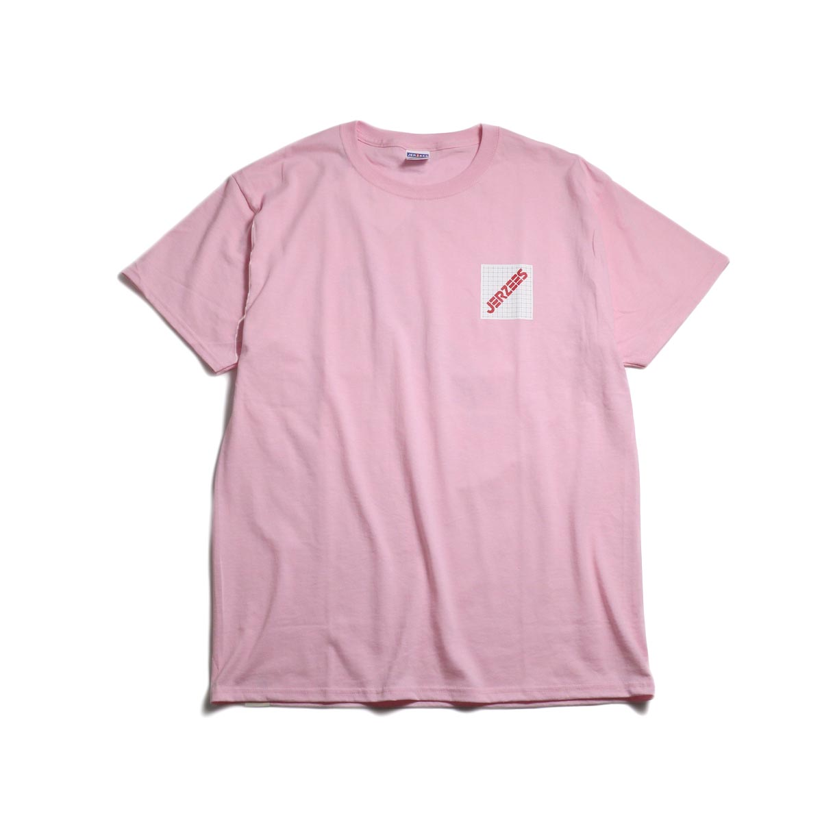 N.HOOLYWOOD × JERZEES  / 191-CS44-070 Short Sleeve Tee -Pink 正面
